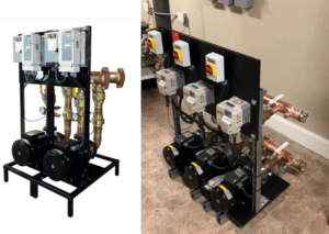 Towle Whitney Duplex and Triplex Water Pressure Booster Pump System