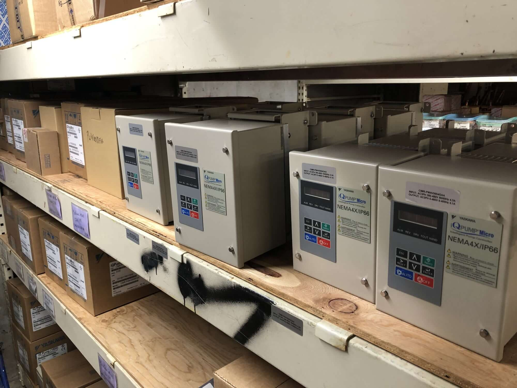 Variable Frequency Drive NEMA 4X Upgrade Available