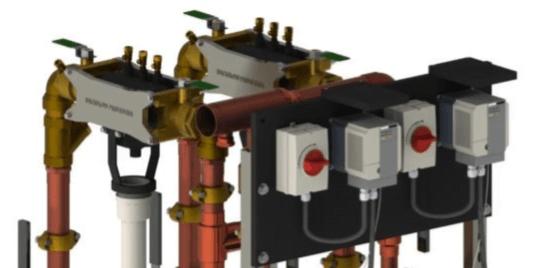 Towle Whitney Gen 5 Duplex Water Pressure Booster Pump System