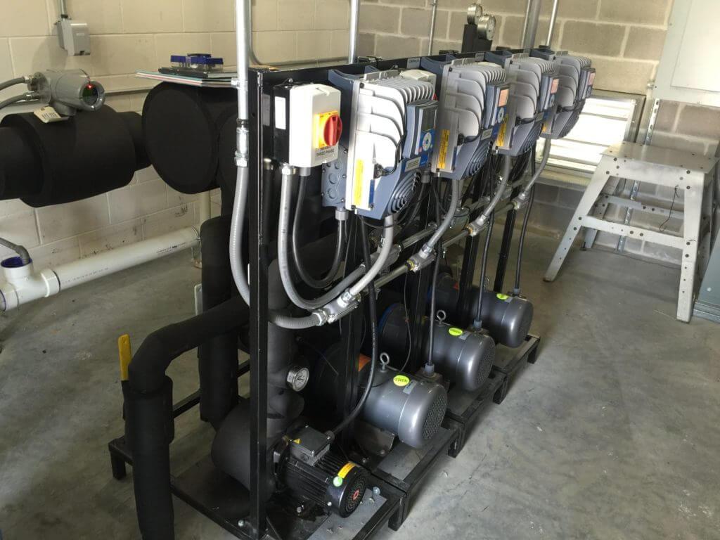 Towle Whitney Quadplex Water Pressure Booster Pump System