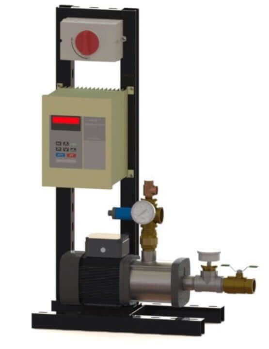 Towle Whitney Rooftop Water Pressure Booster Pump System.
