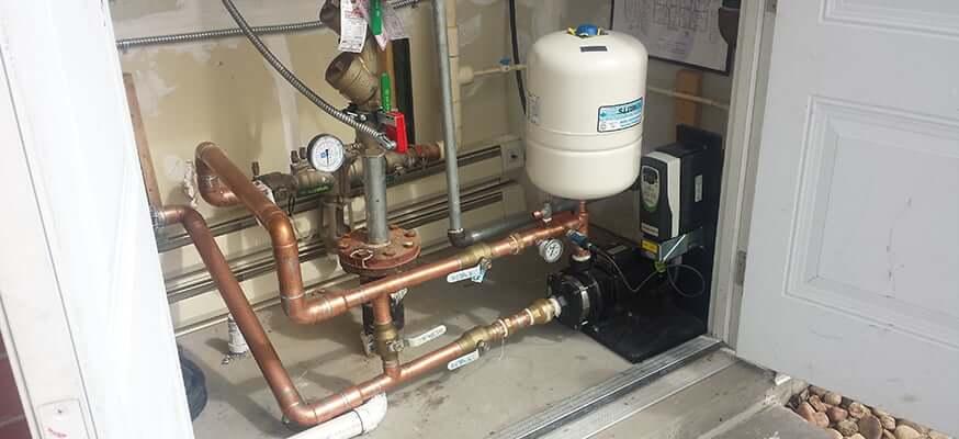 Simplex Water Booster Pressure Pump System