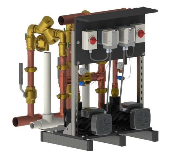 Towle Whitney Gen 5 Water Pressure Booster Pump system