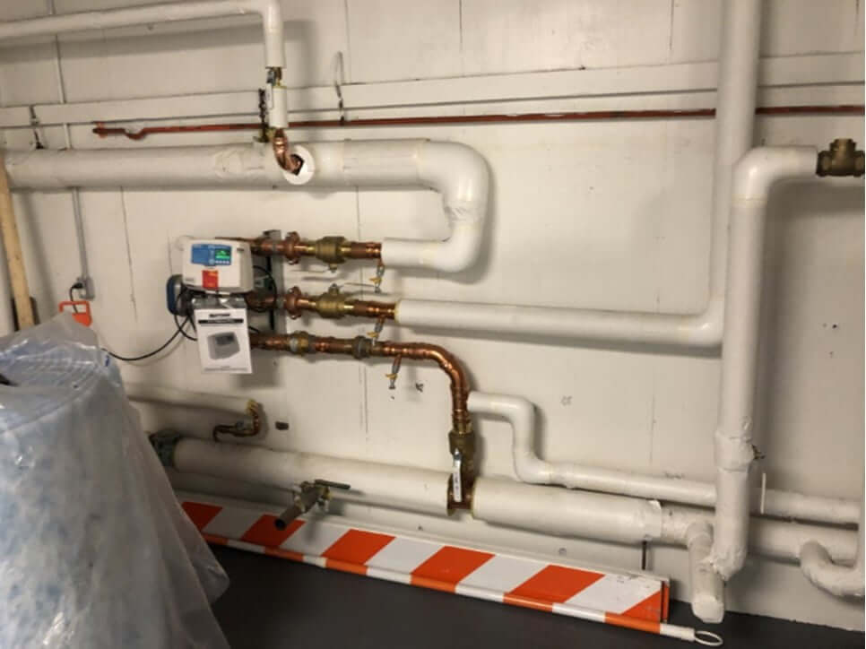 Electronic Mixing Valve Station Installation